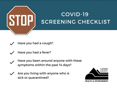 Covid-19 Screening Checklist